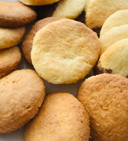 Biscuits coco-chocolat