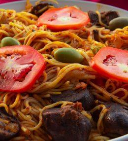Spaghetti-rognon